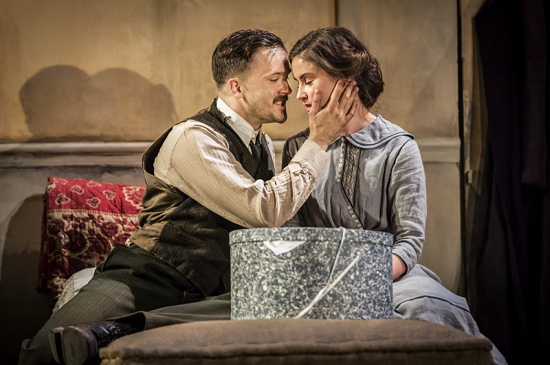 THE PLOUGH AND THE STARS by O'Casey, , Writer - Sean O'Casey, Director - Jeremy Herrin, Designer - Vicki Mortimer, Lighting - James Farncombe, The National Theatre, London, 2016, Credit: Johan Persson