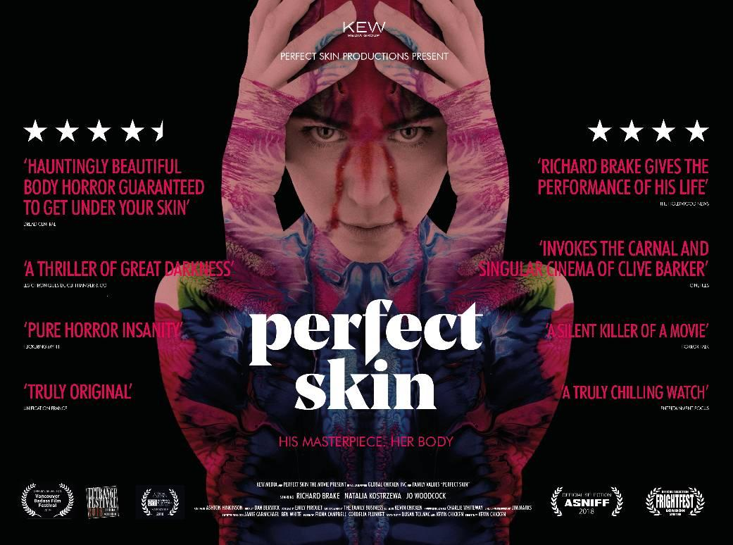 PERFECT SKIN NOW AVAILABLE ON ITUNES, AMAZON AND SKY BOX